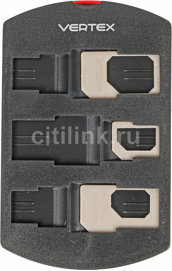Набор адаптеров VERTEX 5 в 1,  SIM/microSIM -  microSIM/nanoSIM [anmsimshg]