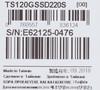 "SSD накопитель TRANSCEND TS120GSSD220S 120Гб, 2.5"", SATA III вид 7"