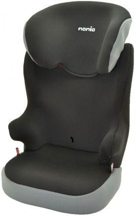 Автокресло детское NANIA Befix SP ECO (roсk grey), 2/3, черный/серый [747950]