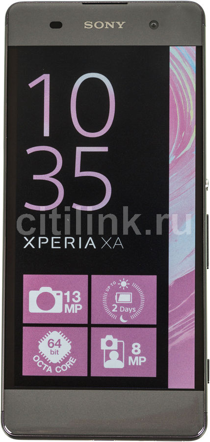 Смартфон SONY Xperia XA F3111,  графит