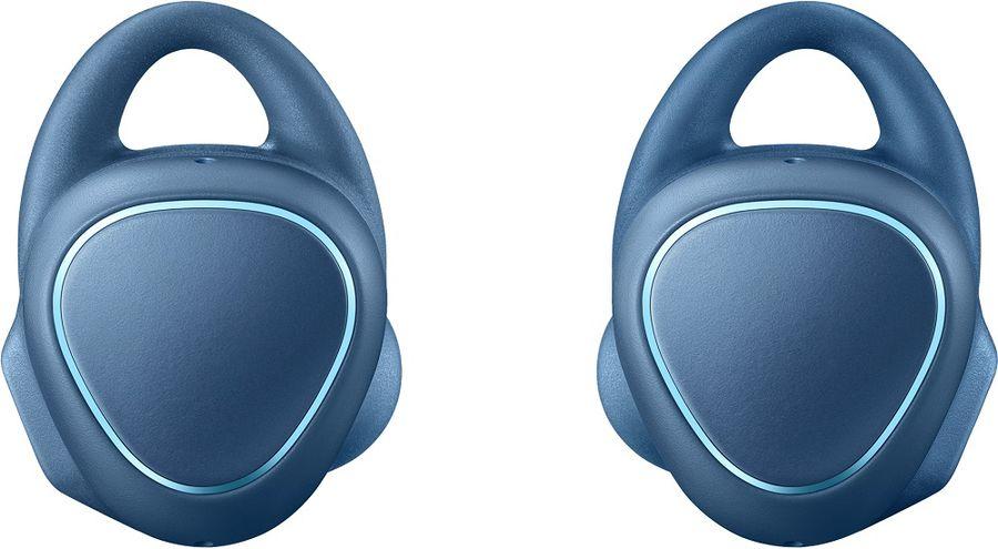 Гарнитура bluetooth  SAMSUNG Gear IconX SM-R150N,  моно, синий [sm-r150nzbaser]