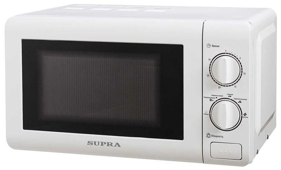 Микроволновая печь SUPRA MWS-2121MW, белый