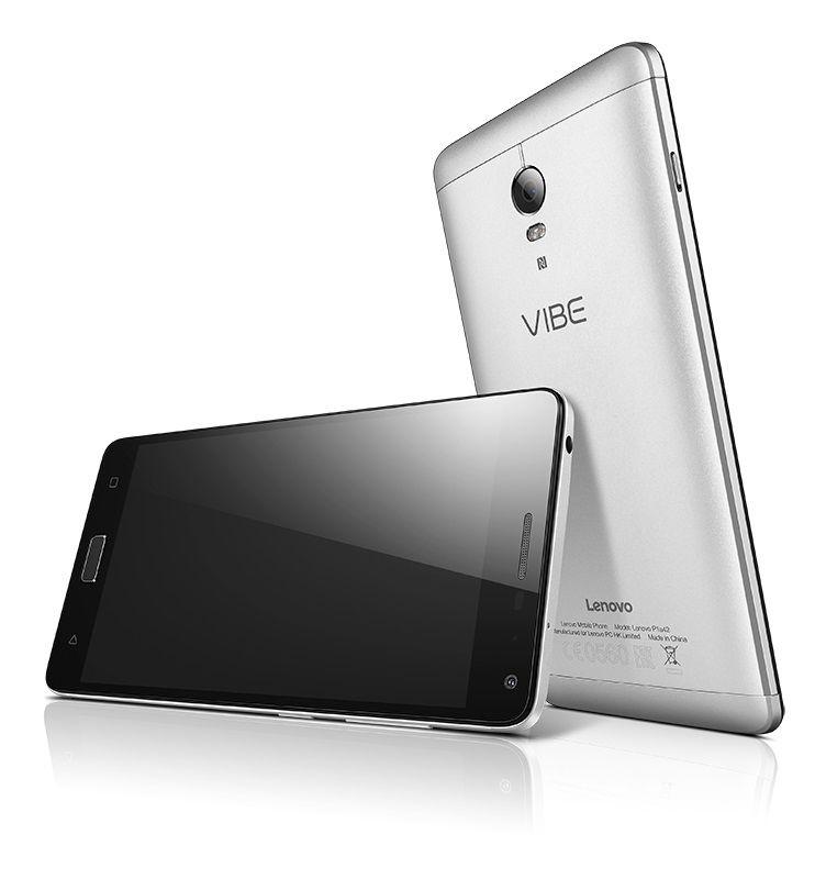 Смартфон LENOVO VIBE P1  серебристый