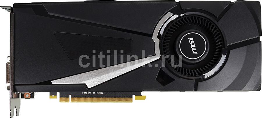 Видеокарта MSI nVidia  GeForce GTX 1070 ,  GeForce GTX 1070 AERO 8G OC,  8Гб, GDDR5, OC,  Ret