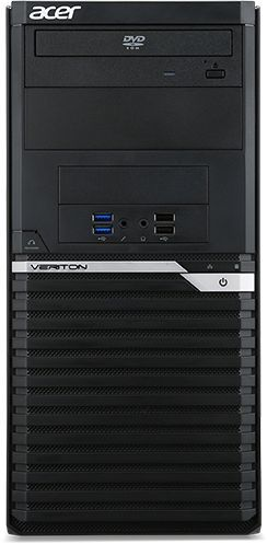 Компьютер  ACER Veriton M4640G,  Intel  Core i7  6700,  DDR4 16Гб, 1000Гб,  128Гб(SSD),  nVIDIA Quadro K2200 - 4096 Мб,  DVD-RW,  Free DOS,  черный [dt.vn0er.098]