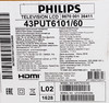 LED телевизор PHILIPS 43PUT6101/60
