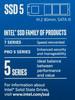 Накопитель SSD INTEL 540s Series SSDSCKKW180H6X1 180Гб, M.2 2280, SATA III [ssdsckkw180h6x1 948577] вид 5