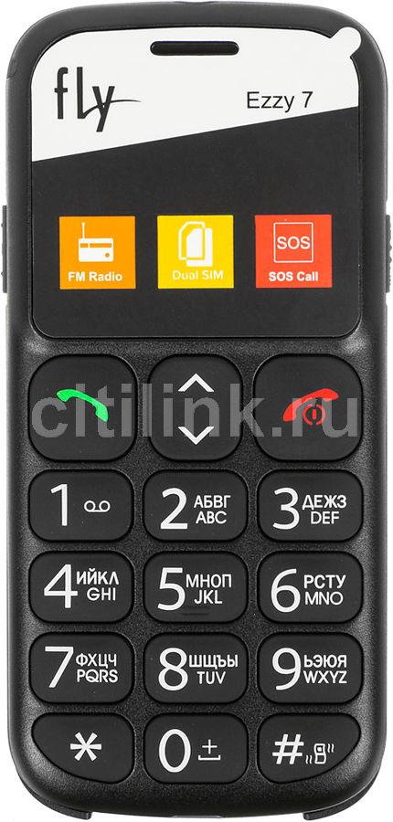 Мобильный телефон FLY Ezzy 7  черный