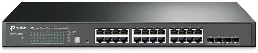 Коммутатор TP-LINK T1700G-28TQ, T1700G-28TQ
