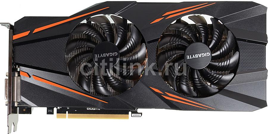 Видеокарта GIGABYTE nVidia  GeForce GTX 1070 ,  GV-N1070WF2OC-8GD,  8Гб, GDDR5, OC,  Ret