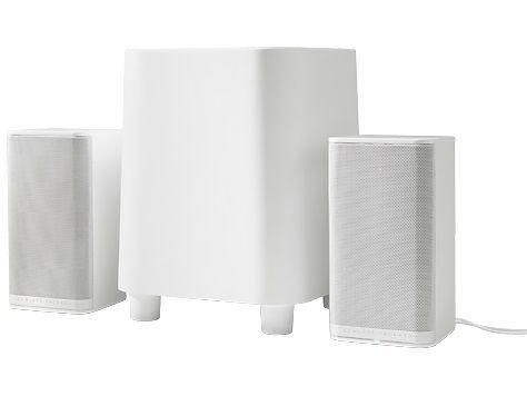 Колонки HP S7000,  белый [k7s76aa]