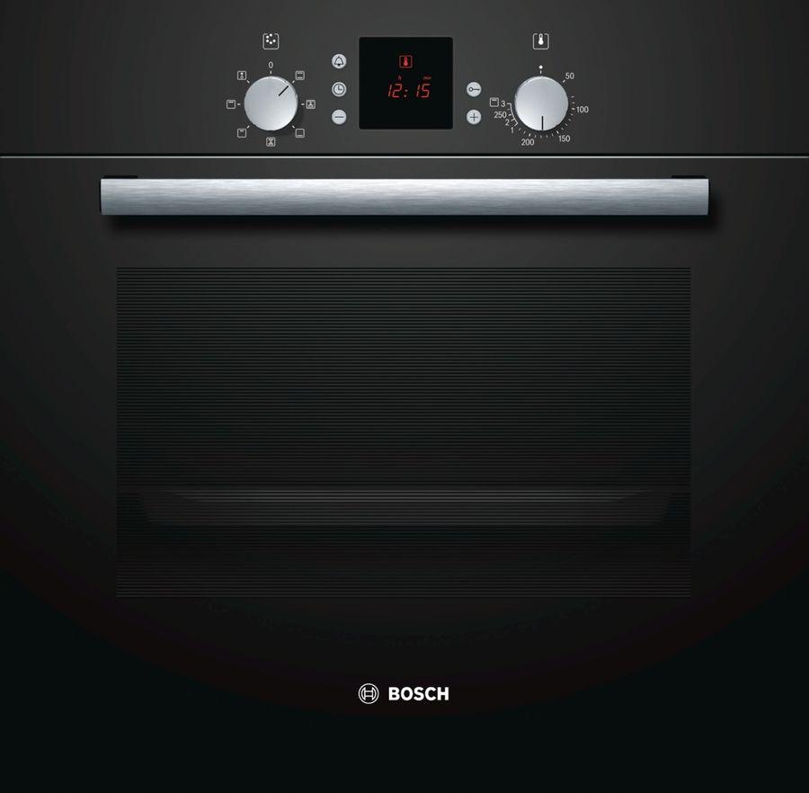 Духовой шкаф BOSCH HBN239S5R,  черный
