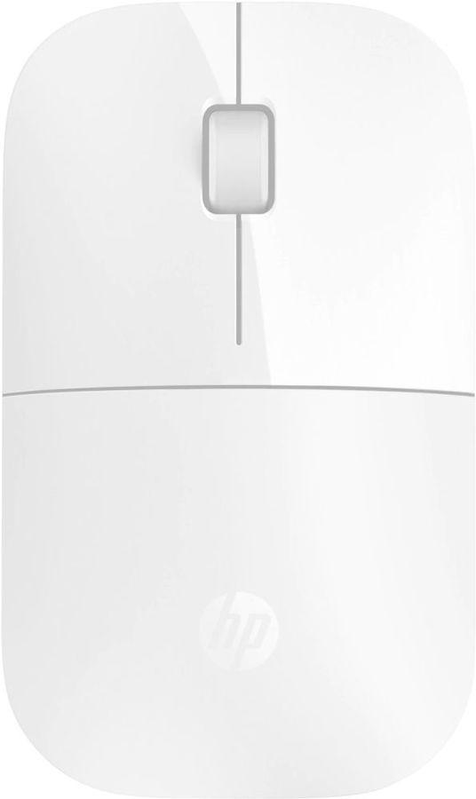 Мышь HP z3700 оптическая беспроводная USB, белый [v0l80aa]