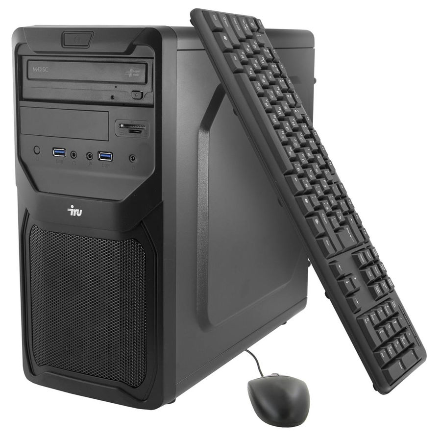 Компьютер  IRU Premium 721,  AMD  FX  8350,  DDR3 8Гб, 1Тб,  AMD Radeon R9 390 - 8192 Мб,  DVD-RW,  CR,  Free DOS,  черный [380863]