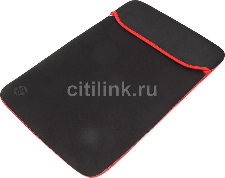 """Чехол для ноутбука 15.6"""" HP Chroma, черный/красный [v5c30aa]"""