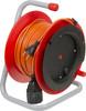 Удлинитель силовой LUX К1-О-25 (22025) 2x0.75кв.мм 1розет. 25м ПВС 6A катушка оранжевый вид 2