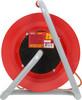 Удлинитель силовой LUX К1-О-25 (22025) 2x0.75кв.мм 1розет. 25м ПВС 6A катушка оранжевый вид 3