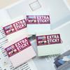 Блок самоклеящийся бумажный Hopax 21663 76x76мм 90лист. 70г/м2 пастель голубой усиленный клей вид 2