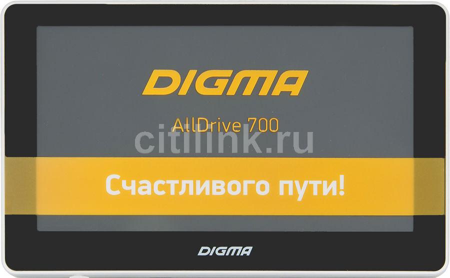 GPS навигатор DIGMA ALLDRIVE 700,  7