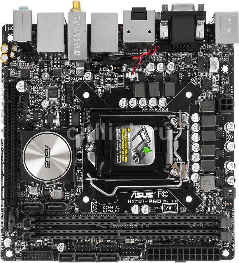 Материнская плата ASUS H170I-PRO LGA 1151, mini-ITX, Ret