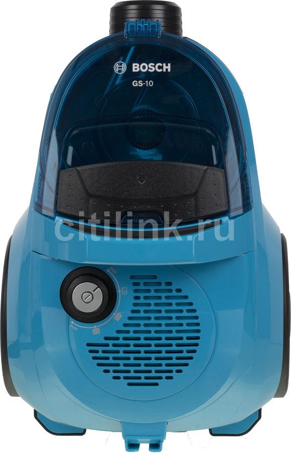 Пылесос BOSCH BGC1U1550, 1700Вт, синий/черный
