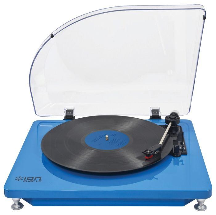 Проигрыватель винила ION Audio PURE LP BL ручной синий