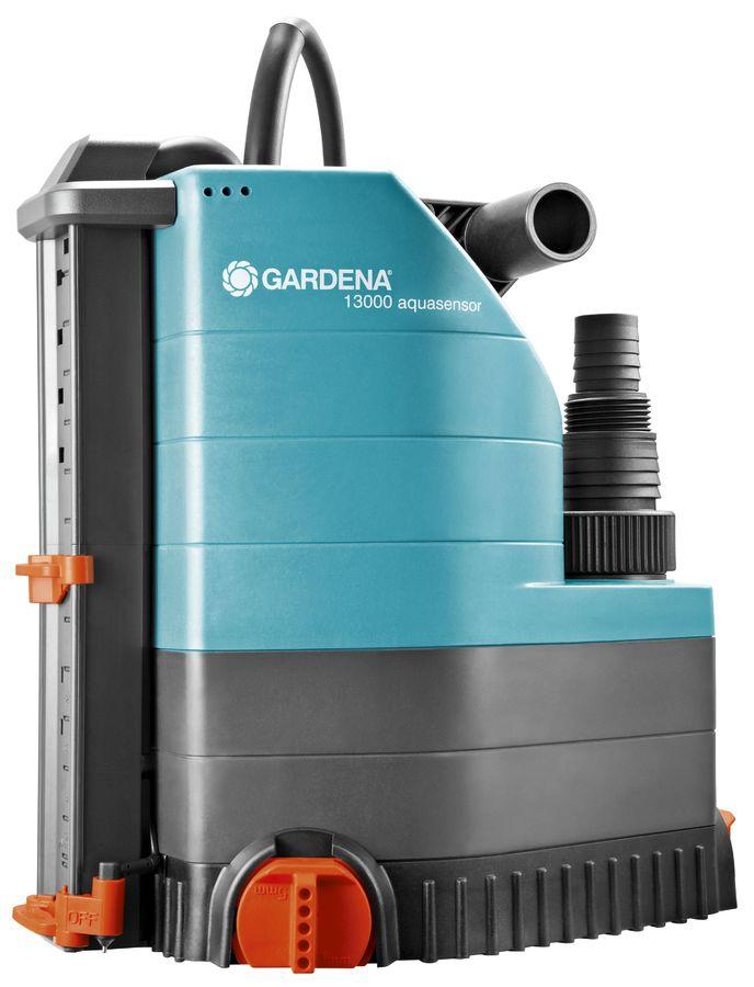 Садовый насос GARDENA 13000 Aqvasensor Comfort,  дренажный [01785-20.000.00]