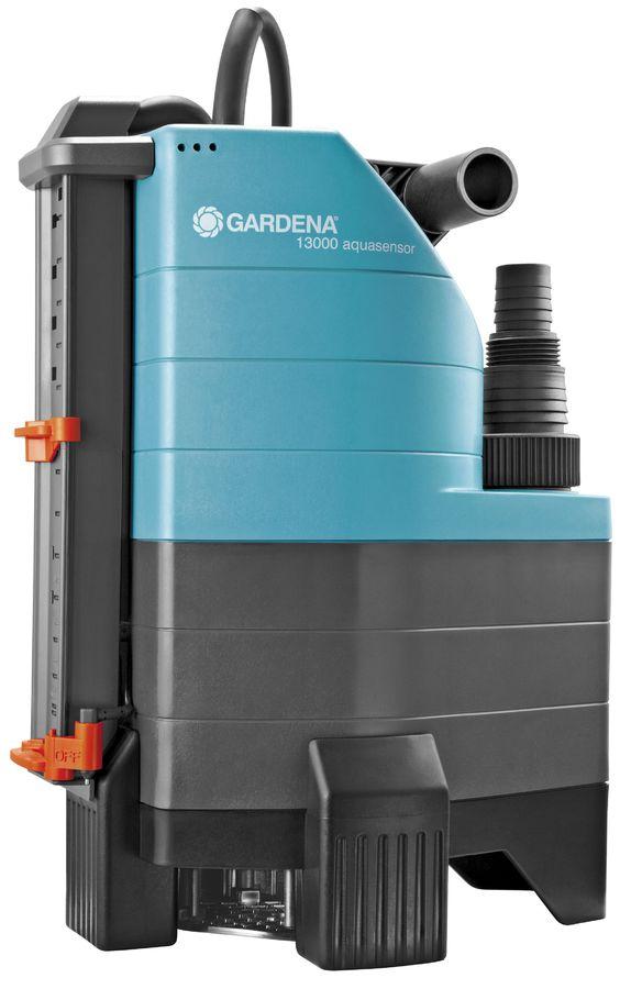Садовый насос GARDENA 13000 Aqvasensor Comfort,  дренажный [01799-20.000.00]
