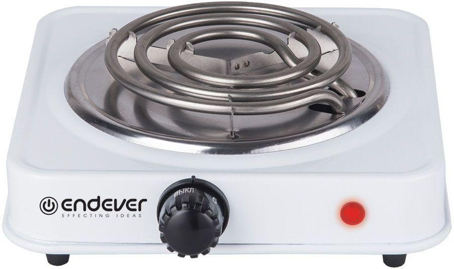 Электрическая плита ENDEVER EP-10 W,  нержавеющая сталь,  белый [80146]
