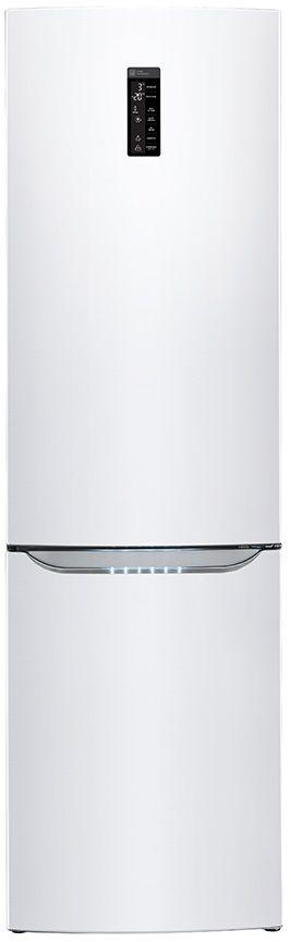 Холодильник LG GA-B489SVKZ,  двухкамерный,  белый глянец