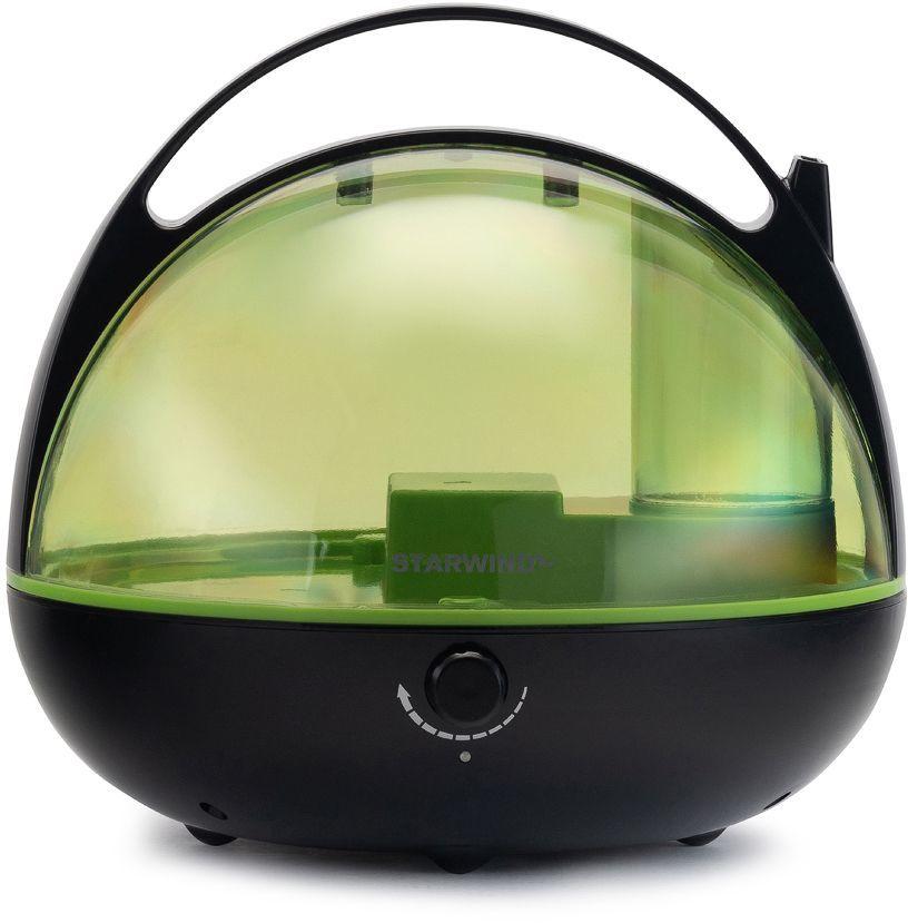 Увлажнитель воздуха STARWIND SHC3415,  черный  / зеленый