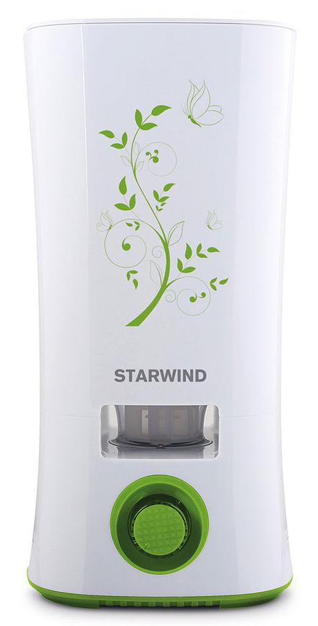 Увлажнитель воздуха STARWIND SHC4210,  белый  / зеленый