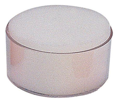 Подушка для смачивания пальцев Deli 9102 78х78х39мм прозрачный