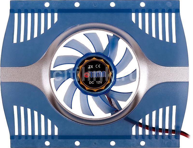 Вентилятор TITAN TTC-HD12TZ,  60мм, Ret