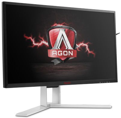 "Монитор AOC 27"" AG271QX(/01) черный TN LED 16:9 DVI HDMI DisplayPort M/M Mat HAS P (плохая упаковка)"