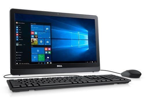 Моноблок DELL Inspiron 3263, Intel Core i3 6100U, 4Гб, 1000Гб, AMD Radeon R5 A335 - 2048 Мб, Windows 10 Home, черный [3263-0564]
