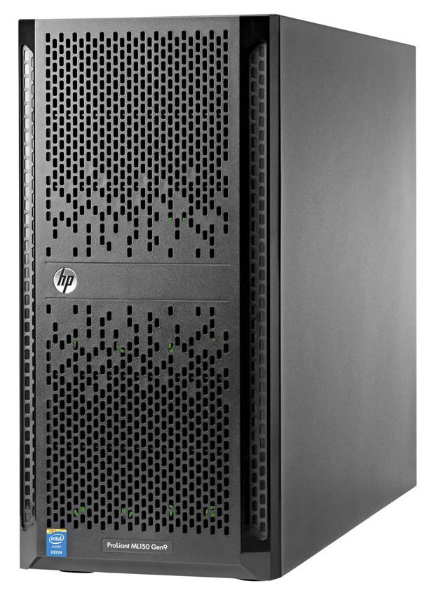 Сервер HPE ProLiant ML150 Gen9 1xE5-2603v4 1x8Gb x4 3.5 B140i 1G 2P 1x550W 3-1-1 (834606-421)Серверы<br><br><br>Линейка: ProLiant