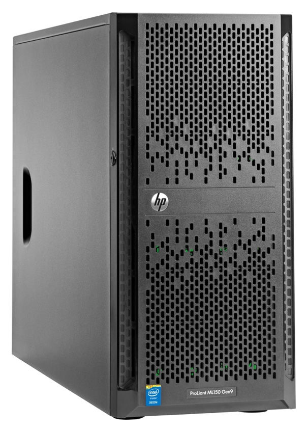 Сервер HPE ProLiant ML150 Gen9 1xE5-2620v4 1x16Gb x8 2.5 H240 1G 2P 1x900W 3-1-1 (834608-421)Серверы<br>Hot Swap HDD<br><br>Линейка: ProLiant