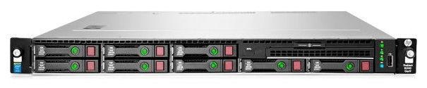 "Сервер HPE ProLiant DL160 Gen9 1xE5-2603v4 1x8Gb x8 2.5"" SATA RW H240 DP 361i 1x550W 3-1-1 (830571-B"