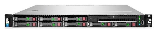 "Сервер HPE ProLiant DL160 Gen9 1xE5-2620v4 1x16Gb x8 2.5"" SATA RW H240 DP 361i 1x550W 3-1-1 (830572-"