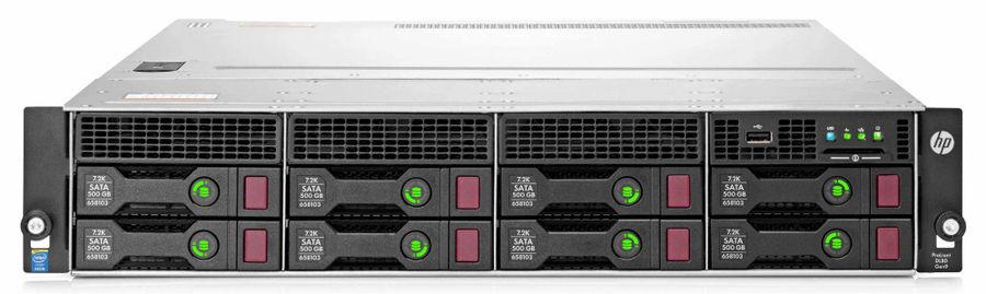 "Сервер HPE ProLiant DL80 Gen9 1xE5-2609v4 1x8Gb x8 3.5"" SATA H240 DP 361i 1x550W 1-1-1 (833869-B21)"