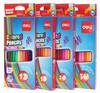 Карандаши цветные Deli E38025 шестигран. 24цв. коробка/европод. вид 2