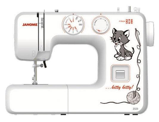 Швейная машина JANOME 2323 белый