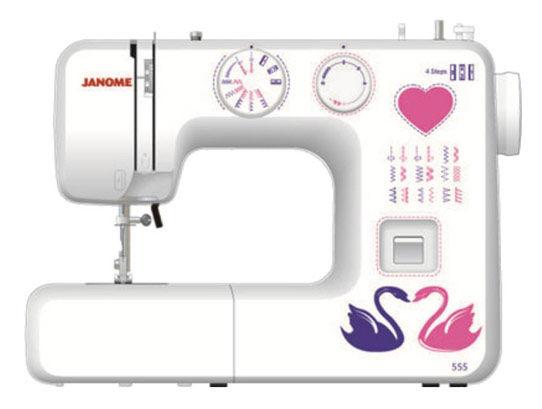 Швейная машина JANOME 555 белый