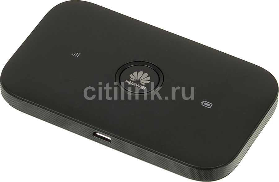 Модем HUAWEI E5573Cs-322 2G/3G/4G, внешний, черный [51071pqt]