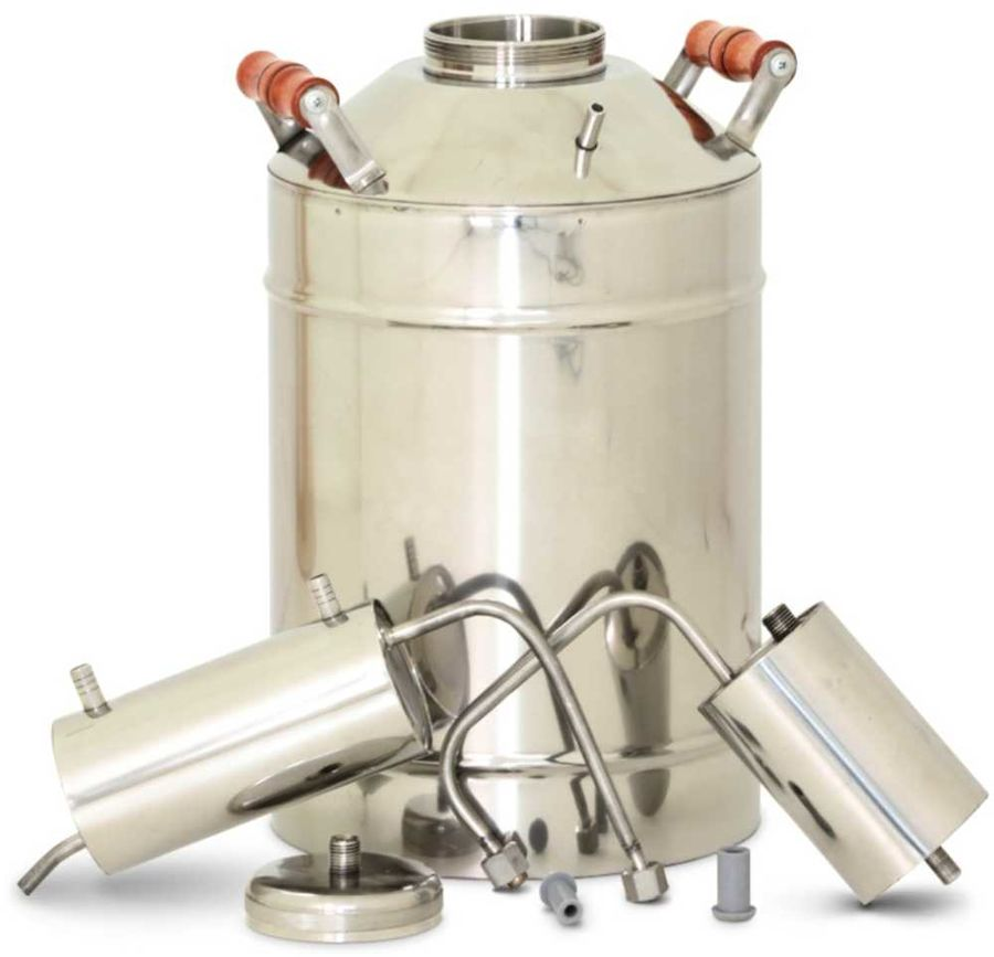 Дистиллятор Магарыч Премиум 20 БКДР 2л/ч V=20л серебристый