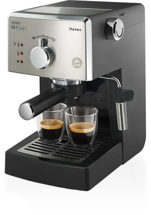 Кофеварка PHILIPS HD8325/79,  эспрессо,  серый
