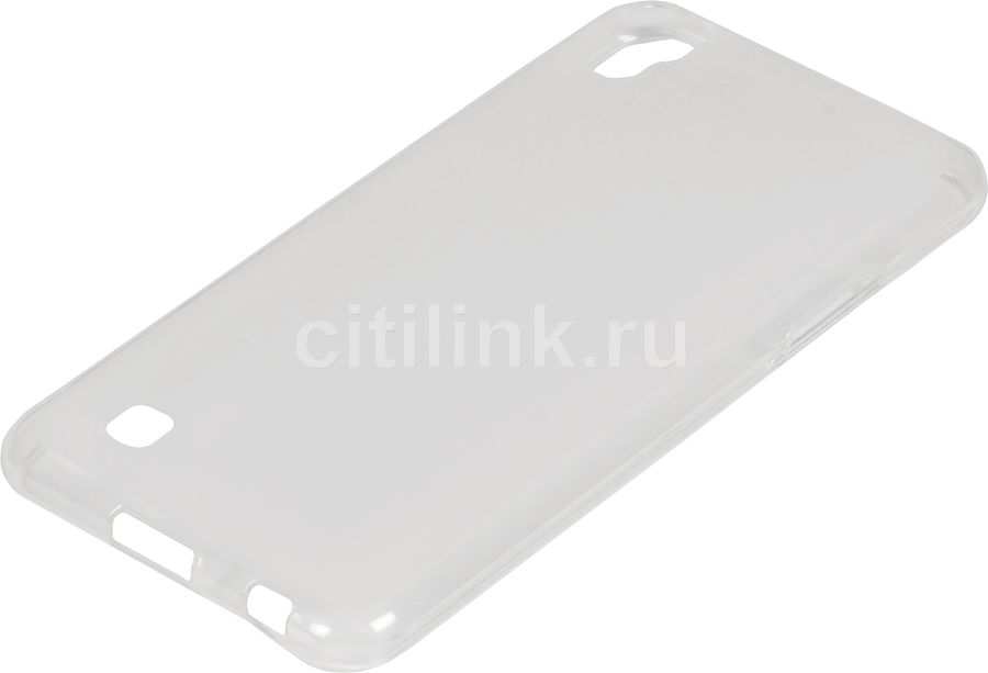 Чехол (клип-кейс) REDLINE iBox Crystal, для LG X Power, прозрачный [ут000009097]