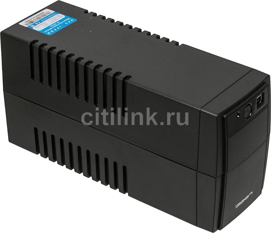 Источник бесперебойного питания IPPON Back Basic 650 Euro,  650ВA [383323]