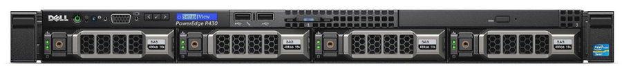 Сервер Dell PowerEdge R430 1xE5-2640v4 1x16Gb 2RRD x4 1x600Gb 10K 3.5
